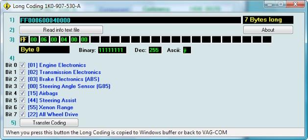 Audimodif : VAGCOM VCDS